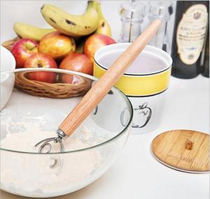 Dough Whisk Mixer Blender Bread 2 Eyes Style Egg Beater Stainless Steel Dutch Style Danish Cake Dessert Mixer Blen bbyfGc yh_pack