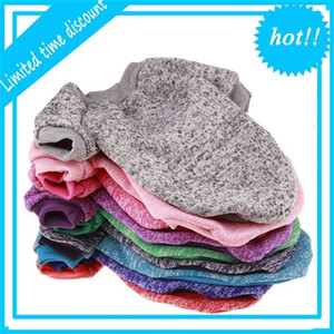 Warm Dog Winter Soft Cats Trui Effects Color Clothing Puppy Jackets For Small Dogs Chihuahua Christmas pet costume