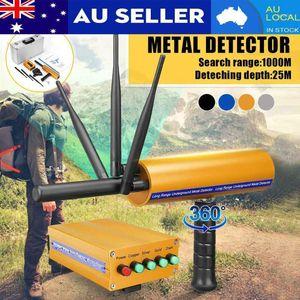 Metal Detectors Detector UnderGround Depth 25m Scanner Finder Gold Tools Li-ion Battery For Digger Treasure Seeking1