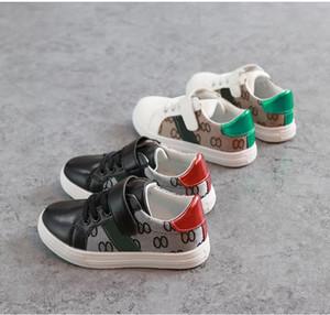 Zapatos para niños Spring Summer Tendencia Moda zapatos para niños niños estilo casual coreano Patrón de costuras para bebés