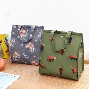 Portable Insulated Lunch Bag Waterproof Special Thermal Insulation Storage Tote Lunch Box Pouch Cooler Oxford Cloth Bag