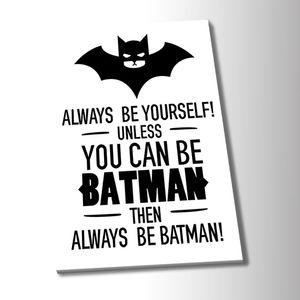 HD Canvas Print Home Decor Art Painting Batman Style Art Poster