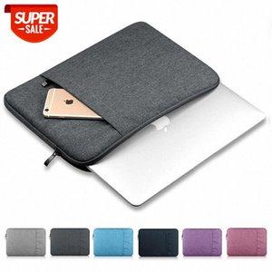 Saco de laptop à prova d'água Capa de manga para notebook para MacBook Air Pro 12 13.3 14 15.6 polegadas para 13 Xiaomi Lenovo Dell Acer tablet sacos # qr8e