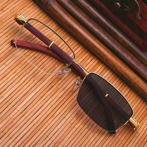 مصمم Vazrobe PhotoChromic Male Wooden Sun Glasses للرجال MyoPia 3.0 2.5 Reading النظارات الشمسية Diopter 1.25 1.5 1.75