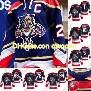 Florida Panthers Frank Vatrano 2020-21 عكس الرجعية الهوكي جيرسي فنسنت Trocheck كونور Brickley Nick Bjugstad James Reimer Weegar Jersey