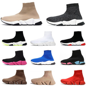 2020 ACE des Chaussures Diseñador Sock Sock Sports Shoes Speed ​​Trainer Womens Mens Tripler Étoile Sneakers Vintage Socks Boots Platform Zapatos Casuales