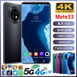 Low Price 6.1-Inch Mate33 Cross-Border Spot Smart Phone Full Large Screen 3G Domestic Android OEM Mobile Phone