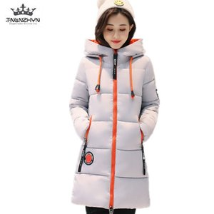 Tnlnzhyn Winter Women Down Coat 2020 Plus Size Hooded Thicke Quente Casaco de Algodão Parka High-End MS Casual Outerwear