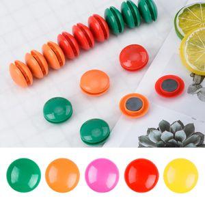 48pcs lot Colorful Plastic Fridge Magnets Whiteboard Sticker Refrigerator Magnets For Kids kitchen Gadgets Home Decor Decoration
