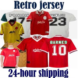 Liverpool RUSH NOUVEAU Gerrard 1985 1986 RETRO maillot de football 2005 2006 Crouch Morientes 85 86 04 05 maillot de football 1989 1991 vintage classique