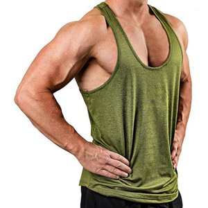2019 turns männer tank top fitness bodybuilding ärmelloses hemd männlich casual singlet weste untershirt solide laufende tops tropfenhipping1