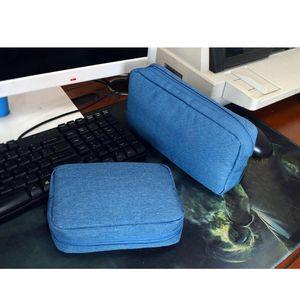 Travel Closet Organizer Case for Headphones Storage Bag Digital Portable Zipper Accessories Charger Data Cable USB Bag