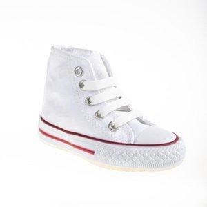 MyWondry Beyaz Keten Işıklı Bebek Sneakers W1217