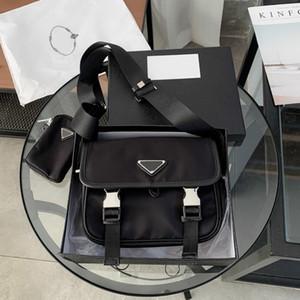 Fashion Designer Crossbody Bags Mens Mens Mensageiro Mensageiro Sacos New Black Bolsas Senhoras Envelope Saco Zipper PD20122903
