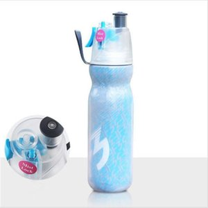590ML Print Vacuum Flasks Thermoses Water Drinking Misting Spray Sport Gym Outdoor Fashion Bottle