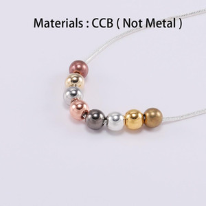 100pcs Lot 3 4 5 6 8 Mm With Hole Ccb Bead Round Seed Loose Spacer Beads For Jewelry Making Supplies Accessories H bbyiTk