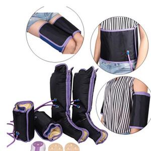 Air Compression Massager ноги Электрическая циркуляция Обертывающие ноги для ногой Лодыжки Терапия теленка Сбросить усталость Массаж расслабиться
