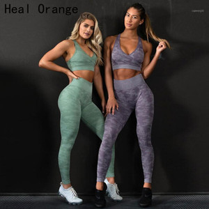 Tracksuit Camouflage Womens Workout Sets Yoga Set Fitness Clothing Gym Legging Sets Seamless Set Gym Suit Women Outfit Women1