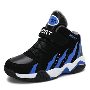 Nexnan inverno crianças sapatos casuais para crianças sapatilhas meninos sapatos meninas neve sneakers pelúcia esporte quente treinadores de basquete y1118