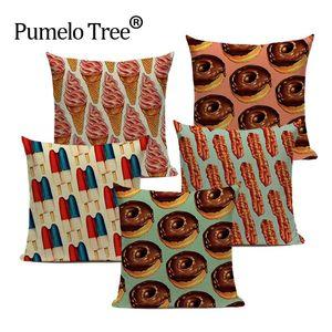 print cushion cover decorative cushion 45Cmx45Cm Square Sofa Bed Printed Pillow Case Dropshipping throw pillows