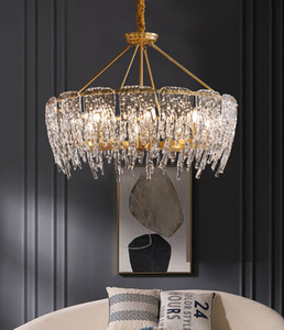 2020 new glass chandelier lighting living room lamp creative personality American pendant lights bedroom dining room lamps