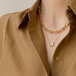 High Quality Creative U lOCK Chain Necklace for Girl Women bracelets earrings