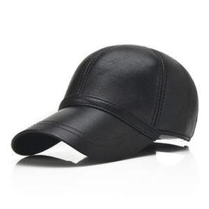 2021 hommes de base de baseball Casquettes de baseball Chapeaux cuir Patchwork Ball Casquette Snapbacks Femmes Fashion Outdoor Casual Sport HiPhop Dad Hat