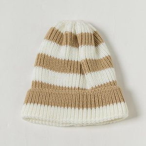 Cokk Winter Hats For Girls Boys Children Korean Stripe Knitted Beanie Kids Bonnet Elastic Winter Cap Cute Warm Baby Hat 2020 Swy sqcPbv