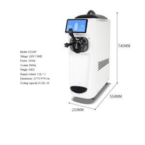 Single Head Ice Cream Machine For Portable Ice Cream Commercial Electric Desktop Intelligent Control Ice Cream Making machine