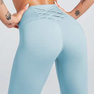 Sport Pants Soft Naked-Feel Athletic Fitness Leggings Women Seamless High Waist Stretchy Squat Proof Gym Sport Tights Yoga Pants
