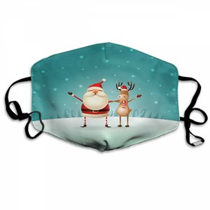 Santa Claus Mask 2020 New Fashion Designer Dust Masks Sunscreen Dustproof And Breathable Masks 270