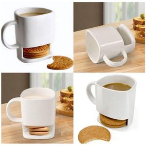 비스킷 홀더 덩크 쿠키와 세라믹 우유 컵 커피 머그잔 스토리지 디저트 크리스마스 선물 세라믹 쿠키 머그잔 YHM229