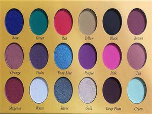 새로운 메이크업 아이 섀도우 팔레트 화장품 18 색 반짝이 아름다움 매트 아이 섀도우