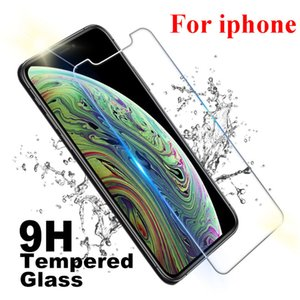 Screen Protector For iPhone 12 mini pro max 11 XS XR 8 7 6S Plus SE2 film 0.3MM 9H 2.5D tempered glass Anti Scratch Shatter Proof