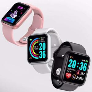 Korean Version Of The Smart Health Bracelet Pedometer Heart Rate Blood Pressure Monitoring Pedometer Sleep Color Screen Bracelet 201204