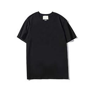 Hombres Mujeres T Shirts Moda casual de alta calidad Impresión de algodón puro negro Blanco Blanco Hombres y camiseta de las mujeres Tamaño M-2XL G03
