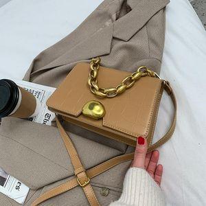 Women's Luxury Female Ladies Crossbody Leather Solid Bags Design Mini Shoulder Chain Bag Handbag Brand 2021 Summer Pu Beautiful Cspuh