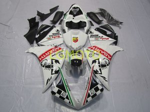 Bodywork For green white blk Yamaha YZFR1 Motorcycle ABS Plastic Injection Fairing Kit Bodywork for YZF R1 2012 2013 2014 12 13 14 YZF-R1