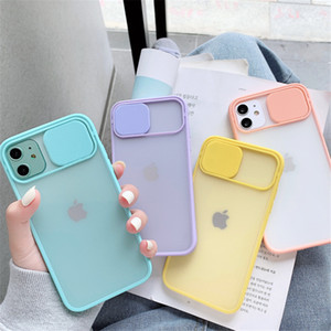 For iPhone 12 Pro Max Clear Matte Phone case With Camera Lens Protector Hard PC Cover For iPhone 11 Pro XR XS Max