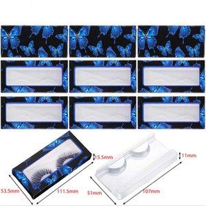 Eyelash Packaging Box Wholesale 10Pcs 3D Mink Lashes Bulk Empty Box 25mm Mink Eyelashes Cases False Eyelashes Paper