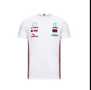 F1 T-shirt a maniche corte Poliestere Asciugatura a maniche corte Poliestere Quick-Asciugami Racing Suit Auto Lavoro Abbigliamento Abbigliamento Beauty Sport Velocità auto Velocità Arrendersi Formula 1 Kart