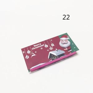 Hot Sale Fluffy Eyelashes Packing Boxes 23 Styles Luxury Christmas Gift Box Lashes Package Logo Makeup Cosmetic Case Mink False Eyelash 1Pcs
