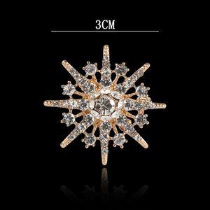 six-star brooch fashion diamond full Men's shirt collar Pin collar pin personalized suit brooch badge badge badge O59hd