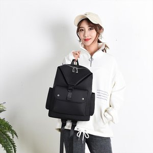 Fashion book bag Neutral Large Capacity Outdoor Student Bag Shoulder Bag With USB Socket mochila de couro j4s
