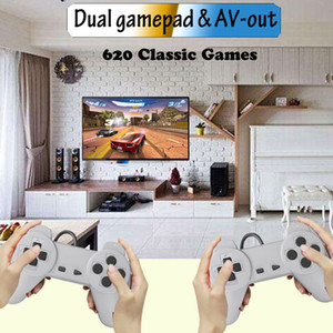 Handled Video Game Console Mini Handheld Player for FC 620 Classsic Games Double Gamepads Classic Retro 8 bit TV Game Controller Y1220