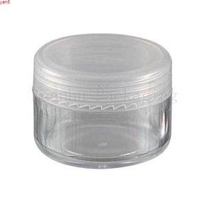 5G Transparent Mini Plastic Cream Jar , 5CC Eye   Mask Sample Empty Cosmetic Container Makeup Sub-bottlinghigh qualtity