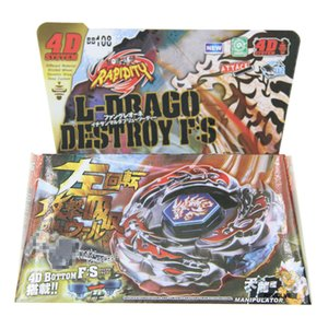 16pcs lot Bayblade BB108 L Drago Destroy Destructor F:S+Launcher WITH LAUNCHER Epacket Free Shipping To Brazil Z1119