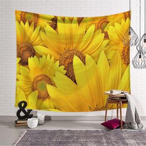 Ambientazione esterna Estate Scialle Scialle Scialle Stampe Indoor Hang Tapestry Divano Throw Blanket Fit Decorazione domestica di alta qualità 28LS E1