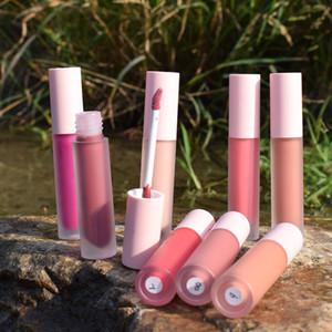 Dudak Parlatıcısı Alıcı Logo Baskı Süper Parlatıcı Lipgloss Koleksiyonu Ile Seçin Paketleme Farklı Gölge Parlakları Özel Lablel Ruj Uzun Ömürlü Mat Bitirmek