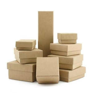 5pcs lot Gift Paper Box Craft Packing Box Valentine's Day Wedding Jewelry Packages 19010901